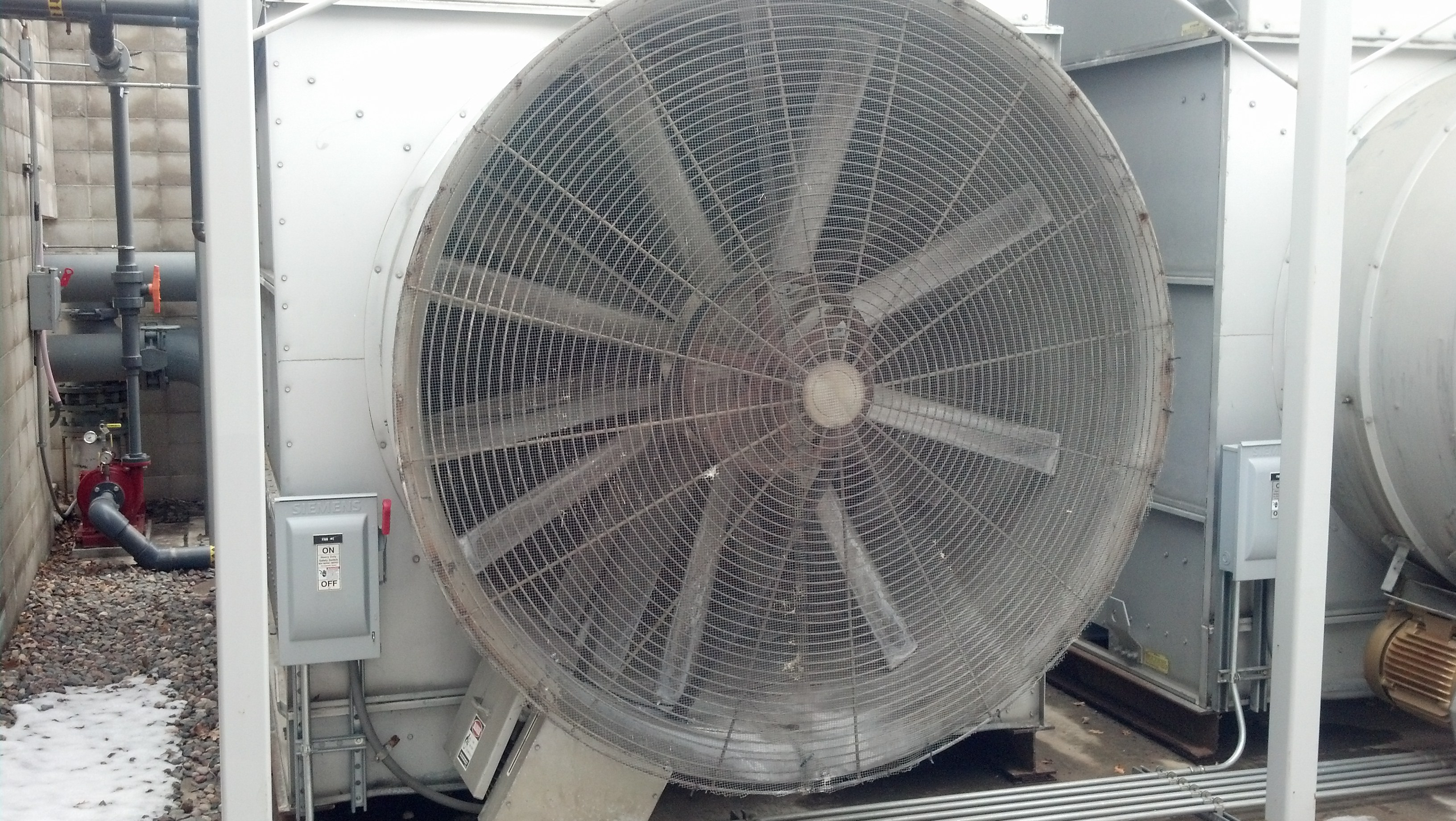 Cooling Tower Fan : Fan guard screen for bac cooling tower