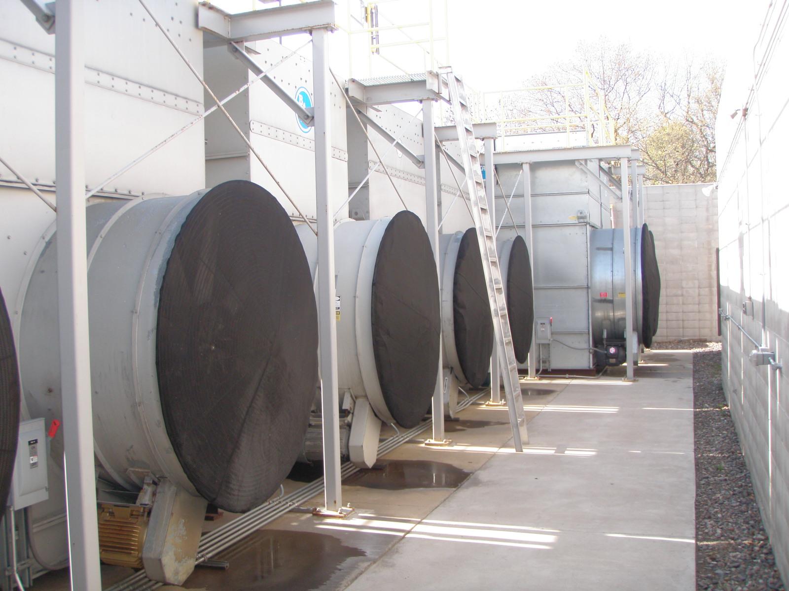 bonnet-filter-cooling-tower-intake-fans