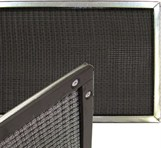 washable electrostatic model r air filter with magnetic attachment
