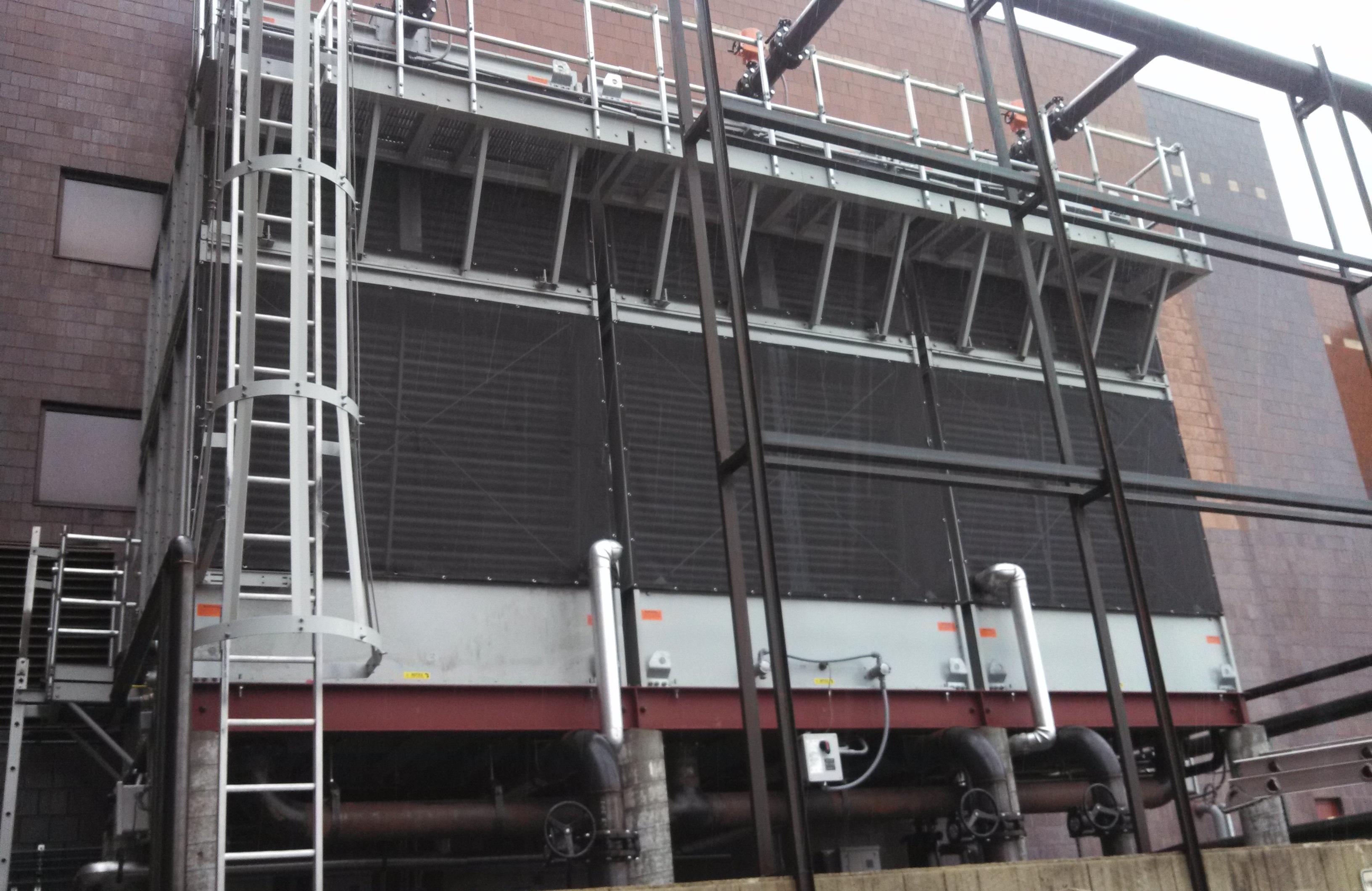 BAC cooling tower air intake filter screen
