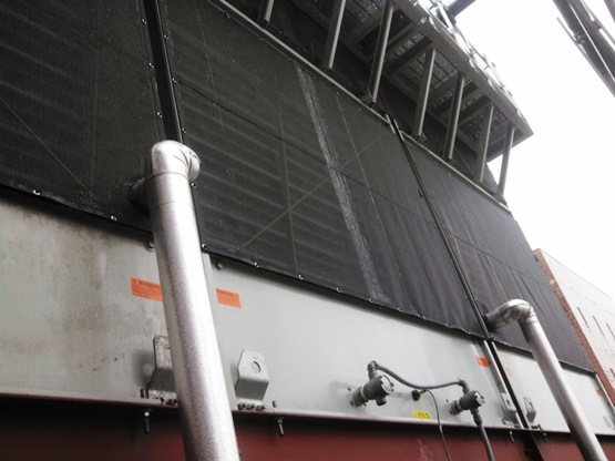 BAC cooling tower air inlet filter screen