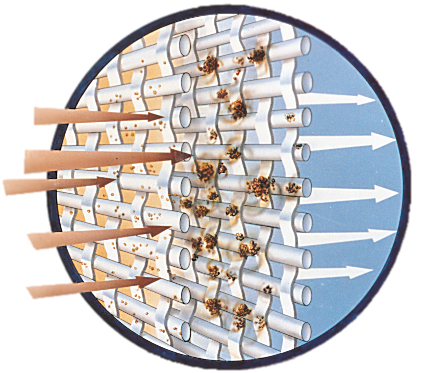 Electrostatic Air Filter - Accumulator Chamber Design