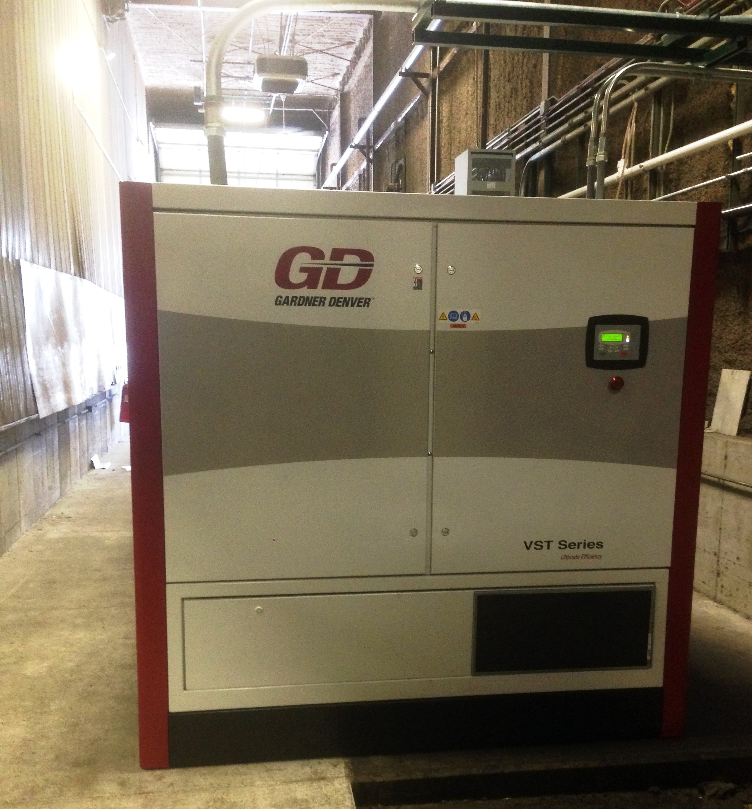 Gardner Denver Compressor With Custom Air Filters