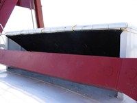 dragline equipment with air intake screen