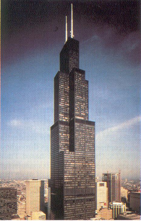 Motorola Air Intake In Sears Tower
