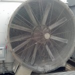 Dirty Cooling Tower Intake Fan