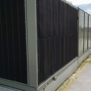Trane Chiller with Intake Screens