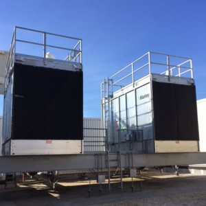 Marley Cooling Tower Intake Screens