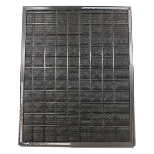 a photo of a residential furnace filter