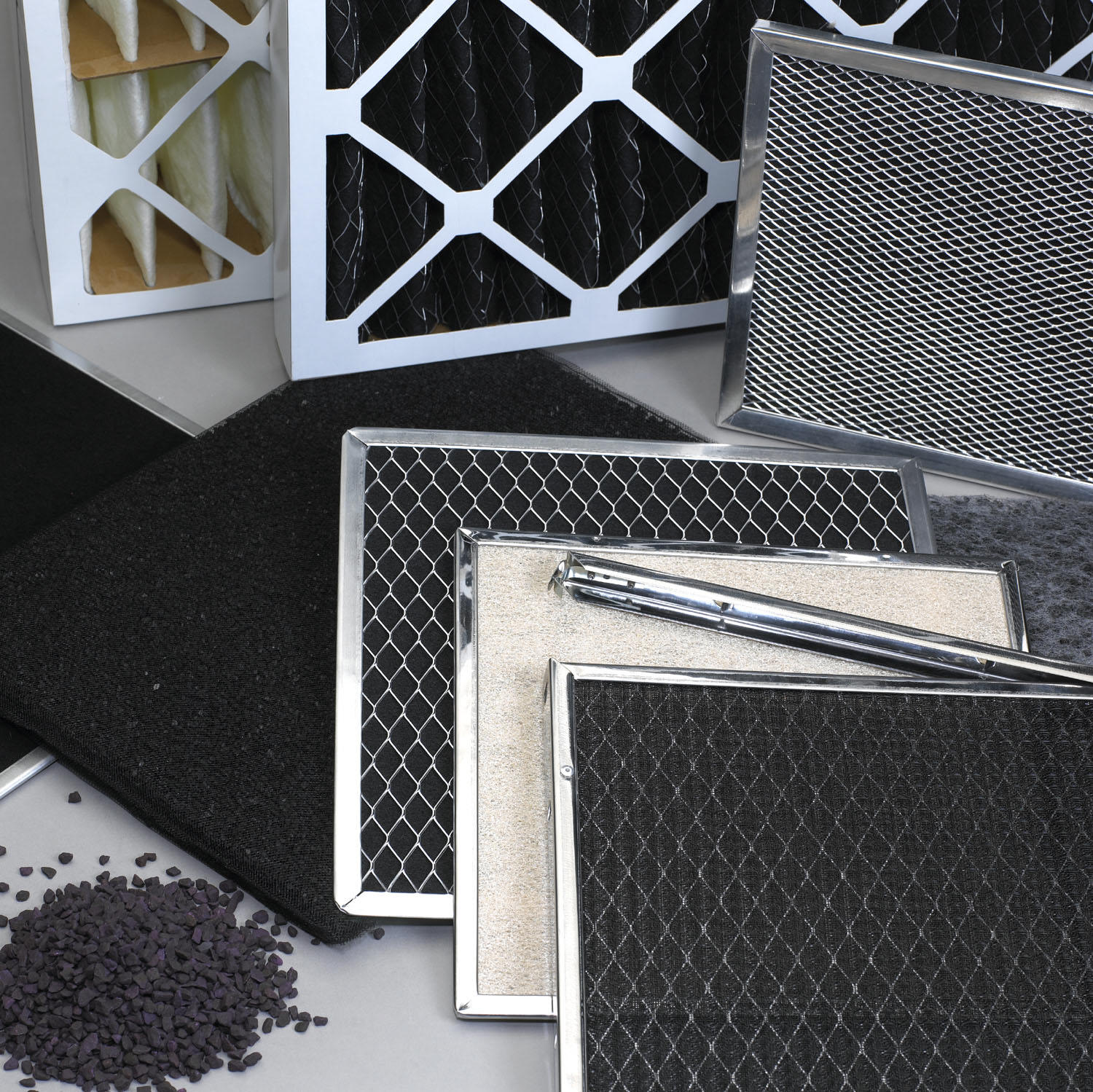 a photo of Permatron filters - activated carbon