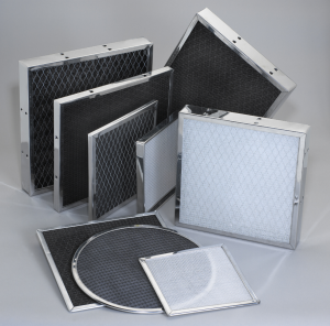 a picture of a collection of residential air filters for homes