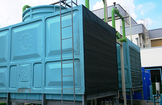 PreVent Installation on Cooling Tower