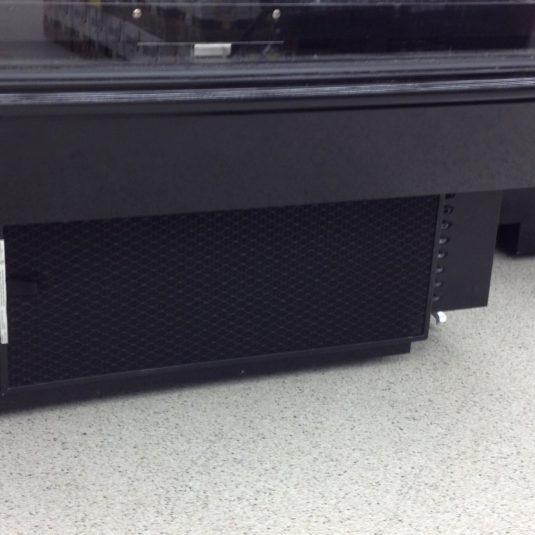 Refrigeration cases Model R