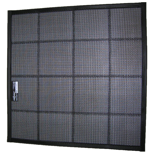 Air Filter With Sonic Welded Support Grid