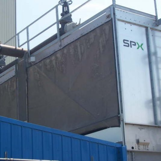 PreVent Installation SPX Cooling Tower