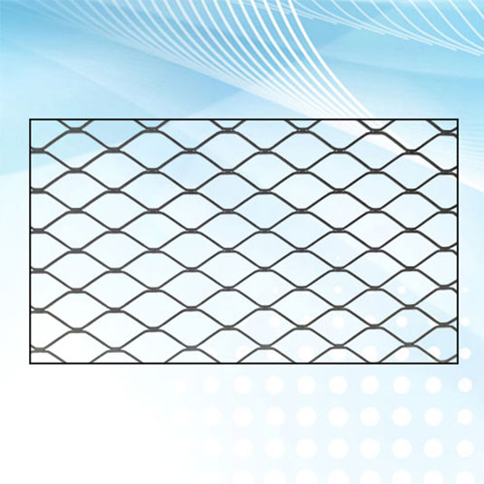 Expanded Metal Mesh Air Filter Support