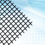 Rigid Plastic Netting Air Filter Media