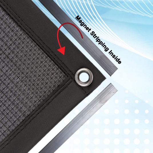 Vinyl Magnetic Stripping Air Filter Frame
