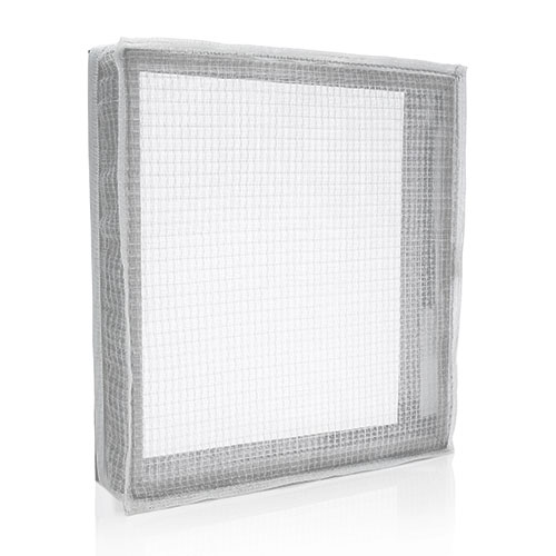 sonic welded air filter frame