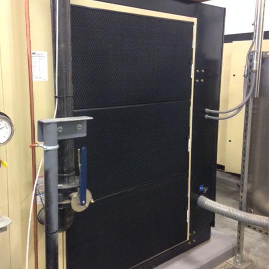 PreVent Installed on Kaiser Compressor