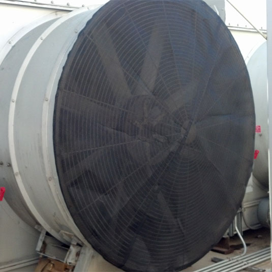 PreVent Bonnet Installed on BAC Cooling Tower Unit Fan