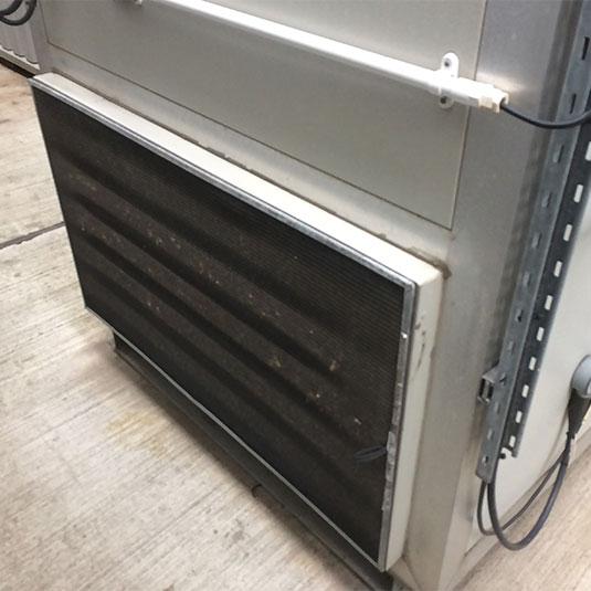 PreVent Installed on Enclosure Cabinet