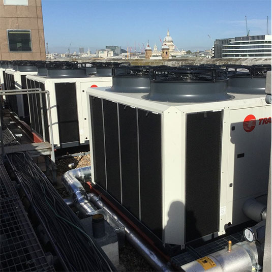 PreVent Installed on Trane Rooftop Units