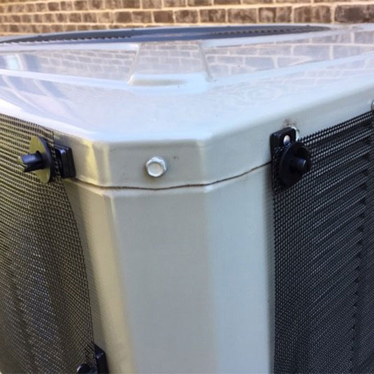 MagnaMount Easily Installs PreVent on Condensers
