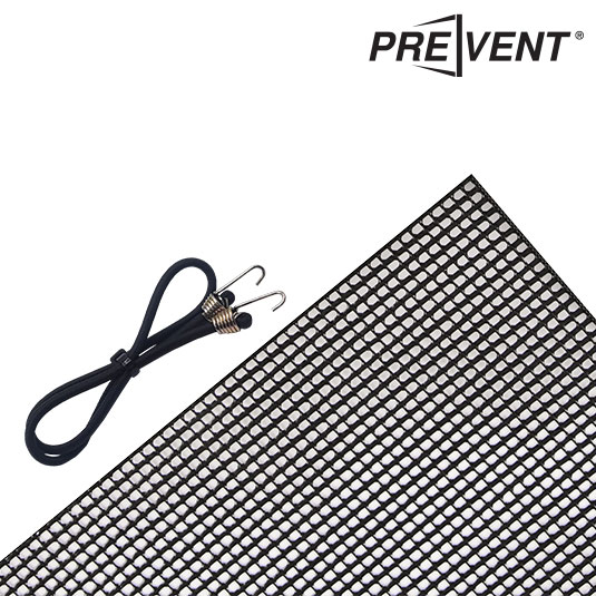 PreVent Wrap-Around Filter & Bungee Cords