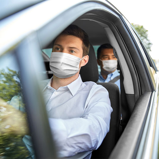 Clearcare Surgical Face Masks