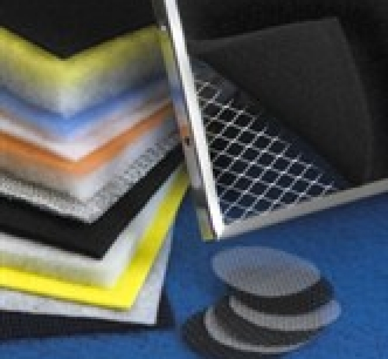 custom air filter media
