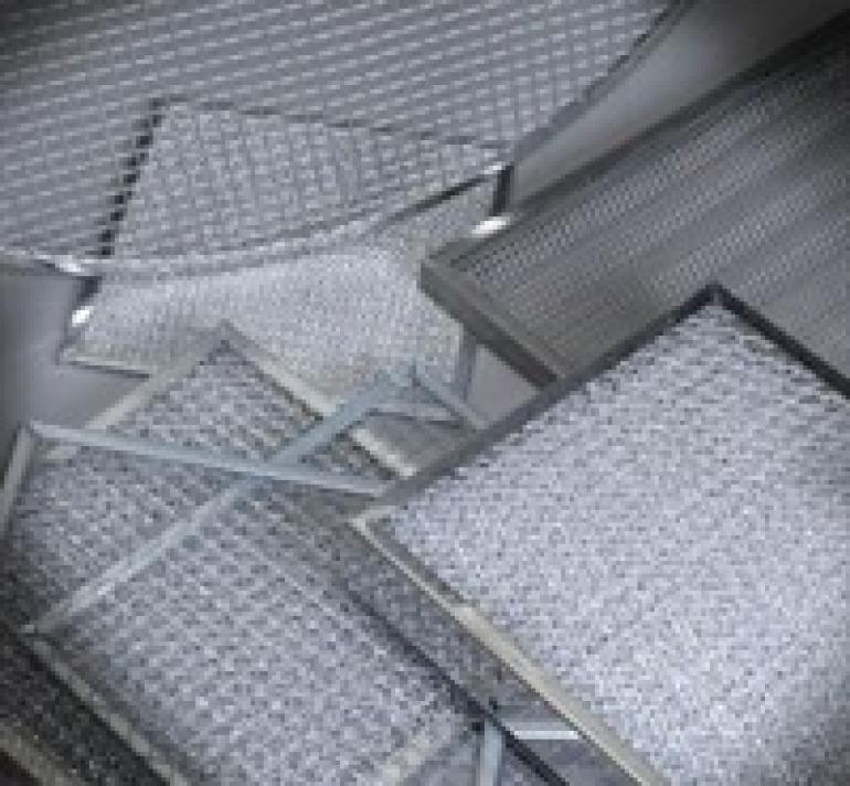 metal mesh custom filters