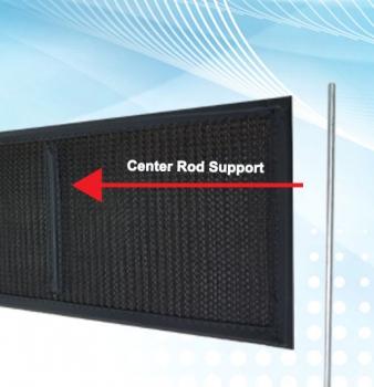 Center Rod Air Filter Support