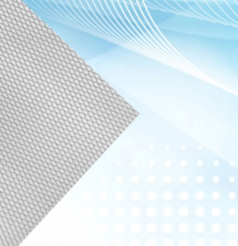 Flat Aluminum Mesh Air Filter Media