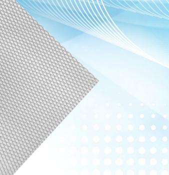 Flat Aluminum Mesh Air Filter Media