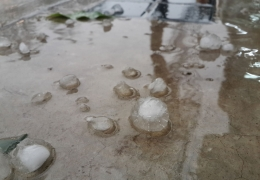 How Hail Can Cripple Your Commercial HVAC Equipment