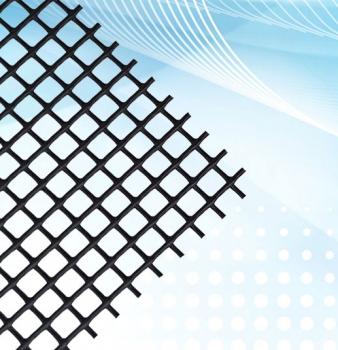 HailStop Rigid Plastic Netting Air Filter Media