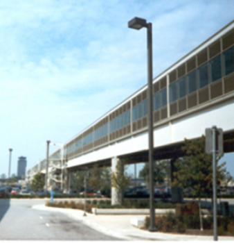 Pedway Air Filtration at Midway Airport