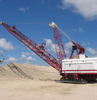 Rock Quarry Dragline Equipment