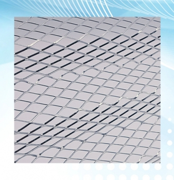 Corrugated Expanded Metal Air Filter Support