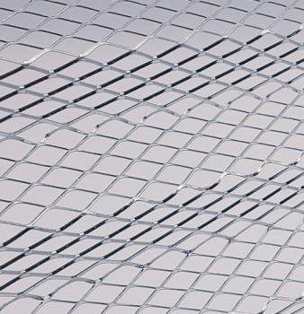 Corrugated Aluminum Air Filter Media