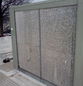 School District Air Conditioning Units Blasted by Hail Storms