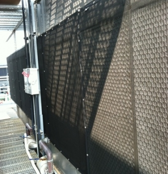 Air Intake Screen Protects Award Winning High Rise