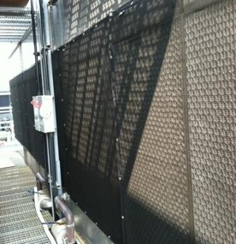 Air Intake Screen Protects Award Winning High Rise