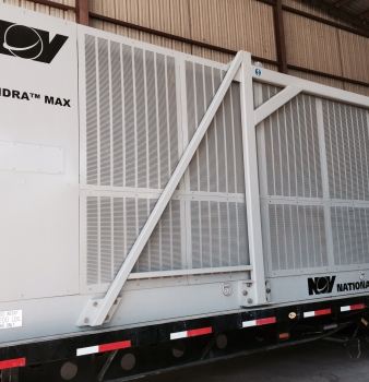 Custom Air Filters Protect Land Mud Coolers