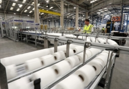 Cooling Fans Protected from Paper Processing Pulp Fines