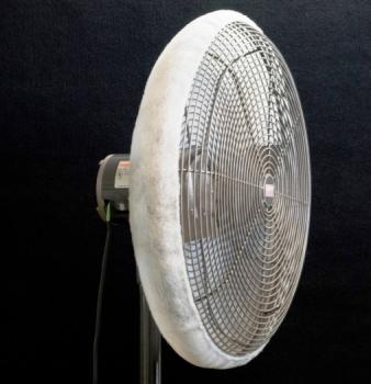 Fan Shroud Air Filter Stops Dust Blowing