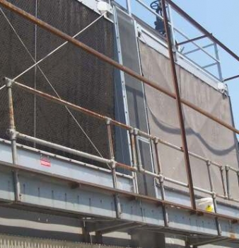 Filter Screens Protect Processing Plant Cooling Towers
