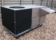York Rootftop HVAC Unit with PreVent Air Filters